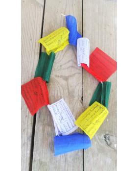 Drapeaux de prières Tibetains